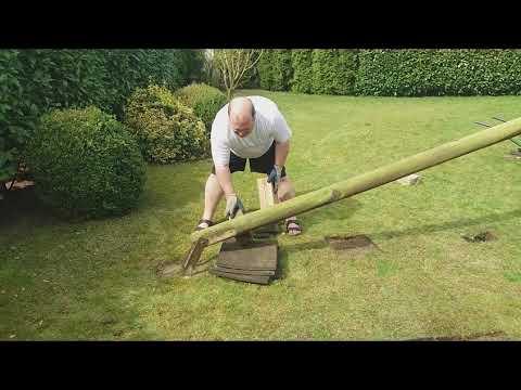 Physik im Vorgarten   ...oder das Ende einer Schaukel