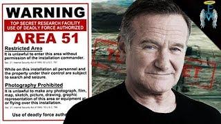 Robin Williams Ghost, Area 51