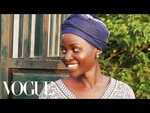 , title : 'Lupita Nyong'o Visits Her Family Home and Farm in Kenya | Vogue'