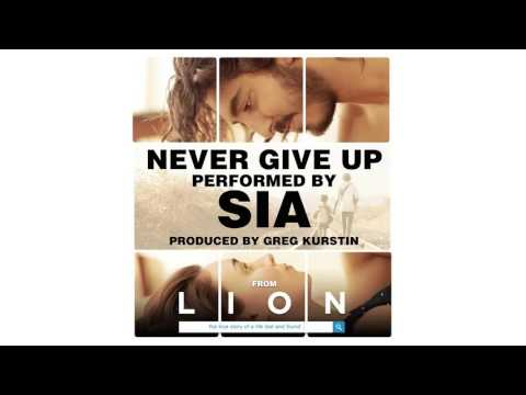 Never Give Up (Song) by Sia