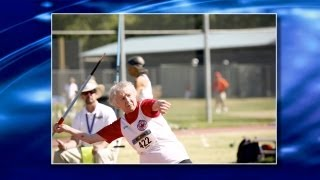 Thumbnail of Senior Olympian: 93-Year-Old Track Star Shows Physical & Mental Fitness video