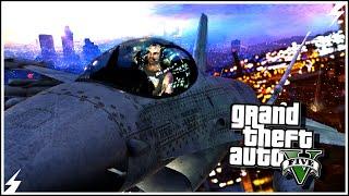 GTA V-Самые Неудачные Фэйлы на Самолетах #1 (GTA 5 Аварии, Трюки)