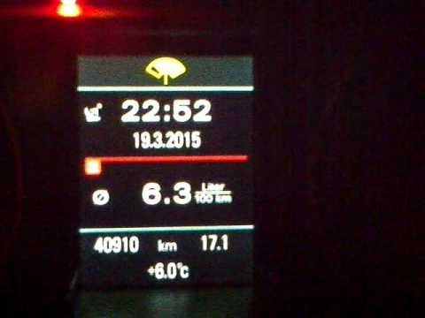 Pescho 206 Niveau des Benzins