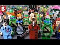 Every LEGO Teenage Mutant Ninja Turtles Minifigure Ever Made! Rare Comic Con Shadow Leonardo & Krang