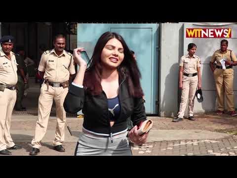 Arjun Kapoor, Paresh Rawal & Sherlyn Chopra Cast  Vote In Mumbai