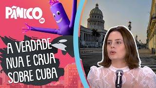 Zoe Martinez: 'Infelizmente o cubano está muito individualista, e isso que causa o comunismo'