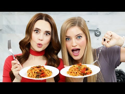 UNFORTUNATE EVENTS PASTA PUTTANESCA - NERDY NUMMIES