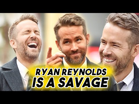 Ryan Reynolds Hates Himself | Total Savage Funny Moments