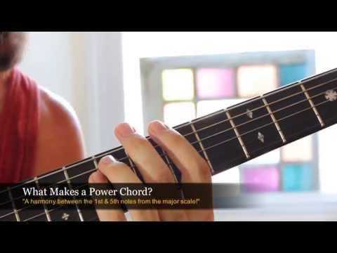 Beginner Rock Guitar Lesson - Power Chords