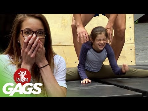 Hilarious Prank: Faking the Splits