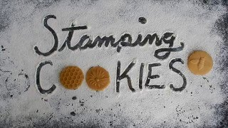 Honey Bees Cookie Stamps Video
