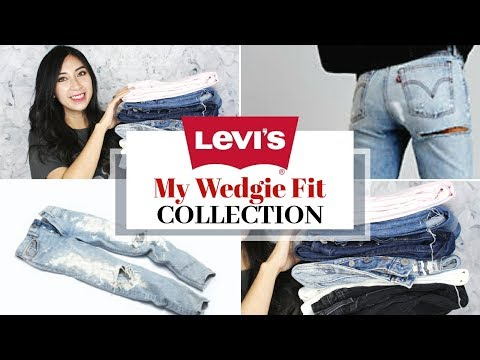 LEVI's WEDGIE FIT JEANS COLLECTION TRY-ON REVIEW | Fashion Trends 2018 | AlexaStyleBook