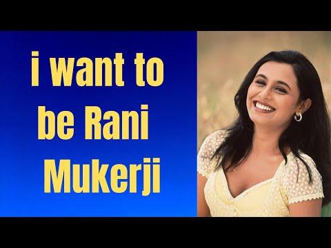 ludhiana - She  want to be rani mukherjee