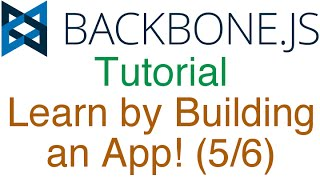 Learn Backbone.js Tutorial by Building a RESTful API App! (5/6) - GET and POST Requests to MongoDB