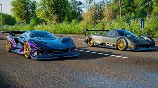 Apollo IE vs. Pagani Zonda R - Forza Horizon 4 Drag Race