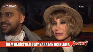 Aşk Sarhoşu! İrem Derici şarkı Söyledi Sevgilisi Dans Etti