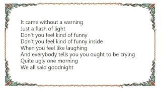 Warren Zevon - Quite Ugly One Morning Lyrics