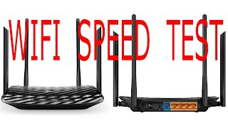 TP-LINK AC1200 MU-MIMO Gigabit Router Archer C6 Speed Test