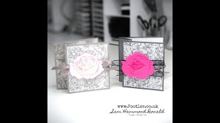 How To Make a Very Easy Fancy Fold Card For Any Occasion