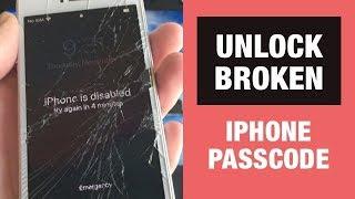 How to Unlock Broken TouchScreen iPhone Passcode?