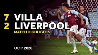 Aston Villa 7-2 Liverpool Pekan 4