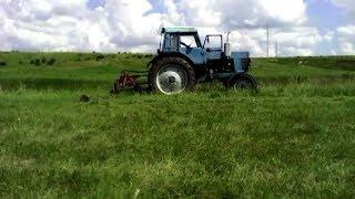 Косим сено с роторной косилкой К.Р.Р-1.85 с Трактором МтЗ 80