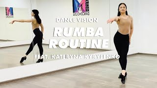 Learn This Rumba Routine With Kateryna Kyrylenko | International Latin | Ballroom Dance Lesson