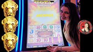 800X Buffalo Gold Handpay Jackpot at Encore Las Vegas with Ridiculous Bonus Game Video