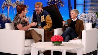 """KJ Apa visited Ellen for the first time, and he got a proper welcome with a scare from his """"Riverdale"""" character Archie. Plus, the star explained why he recorded a birthday video for Ellen while nude, and listed reasons why New Zealand is less dangerous than Australia.  #KJApa #TheEllenShow #EllenDeGeneres"""