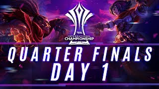 RoV : AIC 2018 Quarter Finals Day 1