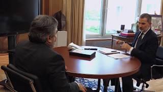 Audiencia de S.M. el Rey al ministro de Cultura y Deporte, José Manuel Rodríguez Uribes