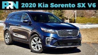 2020 Kia Sorento SX V6 Review