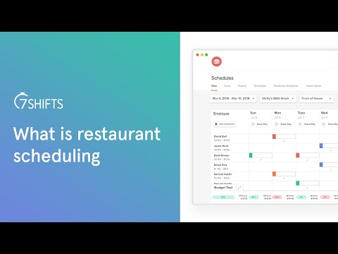 What Is Restaurant Scheduling? How to Create & Manage Restaurant Schedules youtube video thumbnail