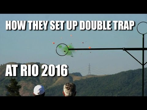 How They Set Up Double Trap at Rio 2016