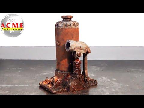 70 Year Old Blackhawk Hydraulic Jack Restoration