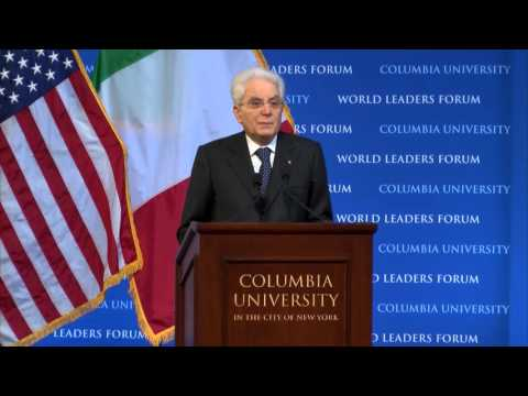 His Excellency Sergio Mattarella, President of the Italian Republic