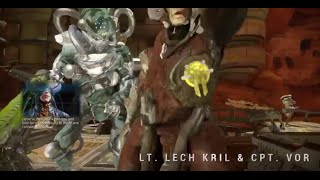 Warframe - Lt Lech Kril  Cpt Vor (Boss Fight - Solo)