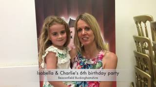 Isabella & Charlie's 6th birthday party
