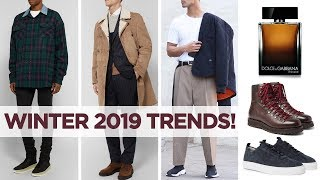 Men's Winter Fashion Trends You NEED To Know | Style Inspiration 2019