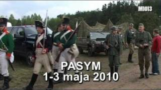 preview picture of video 'Pasym, 1-3 maja 2010, Wileński Pułk Muszkieterski'