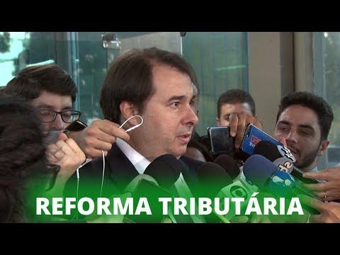 Rodrigo Maia cobra negociação de pacto federativo