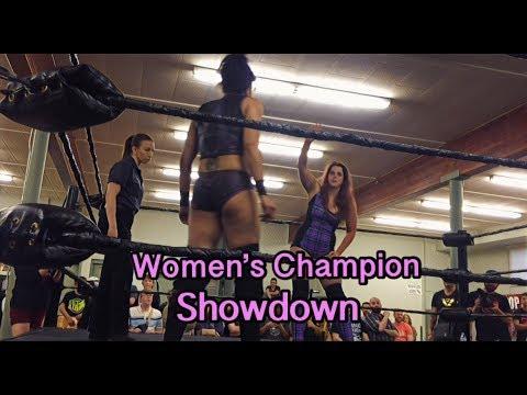 Nicole Matthews (c) vs Nicole Savoy (c) - Women's Wrestling Clash of Champions