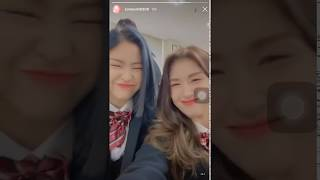 Somi with ITZY Ryujin and Chaeryeong