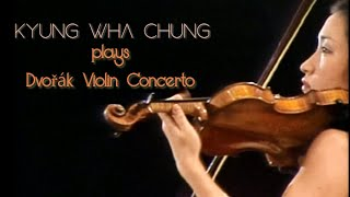 Kyung Wha Chung plays Dvořák violin concerto