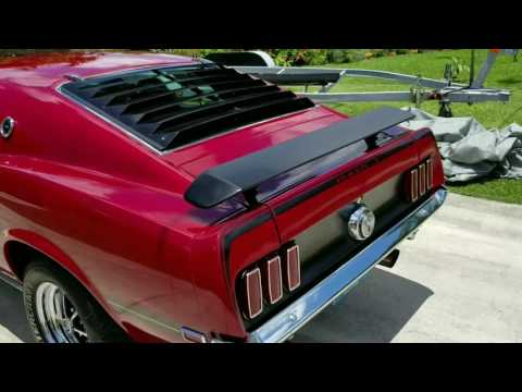 Video of '69 Mustang Mach 1 - L7ME