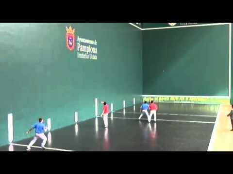 Final Mano Parejas Espinal-Sarasa vs Agirre-Alduntxin