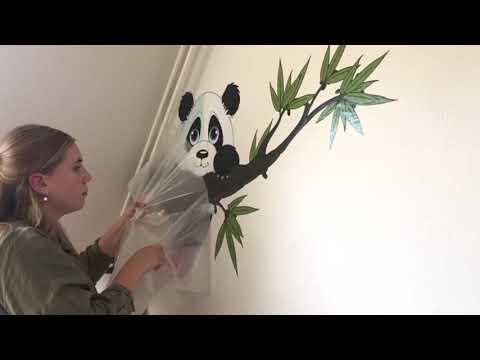 Wandtattoo richtig anbringen | Tutorial | Kinderzimmer einfach neu gestalten | wall-art.de