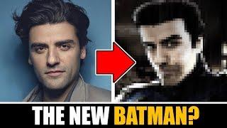 Drawing OSCAR ISAAC as THE NEW BATMAN !?!