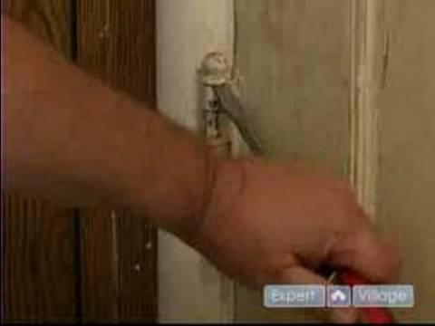How to Update an Old Door : How to Remove Hinges from an Old Door