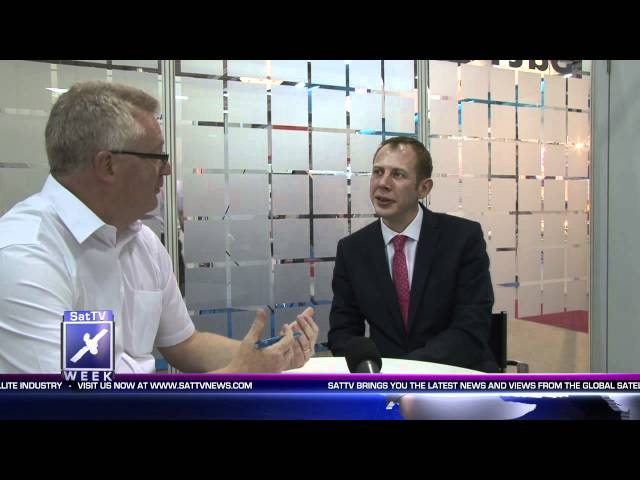 2012 – SatTV Week talks to Oliver Johnson